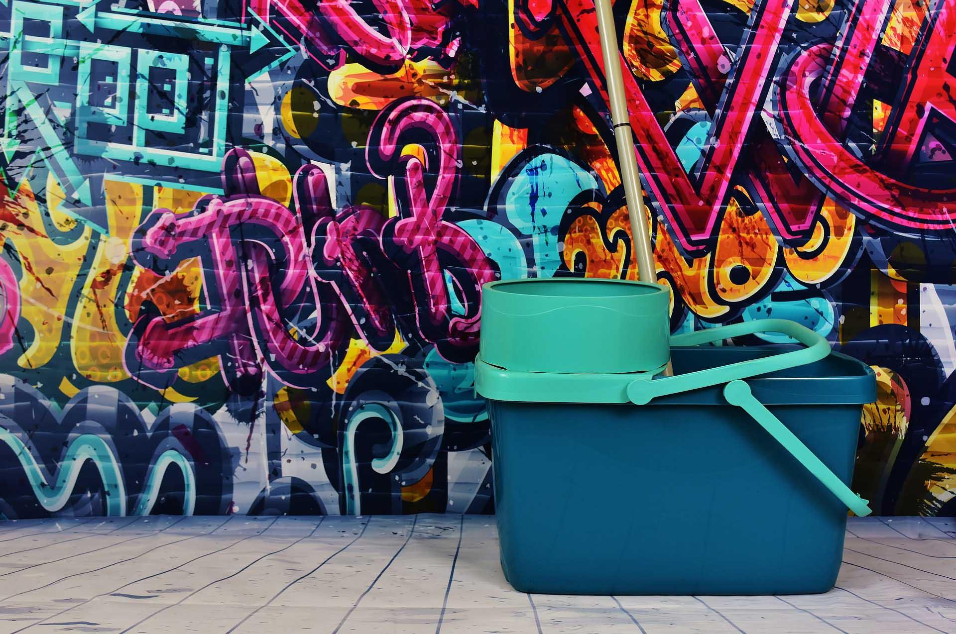Proceso de Limpieza de Graffitis - Ladrillos AGTecno-3