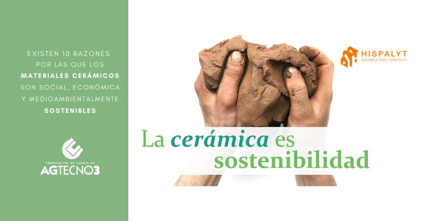 Sostenibilidad en materiales cerámicos