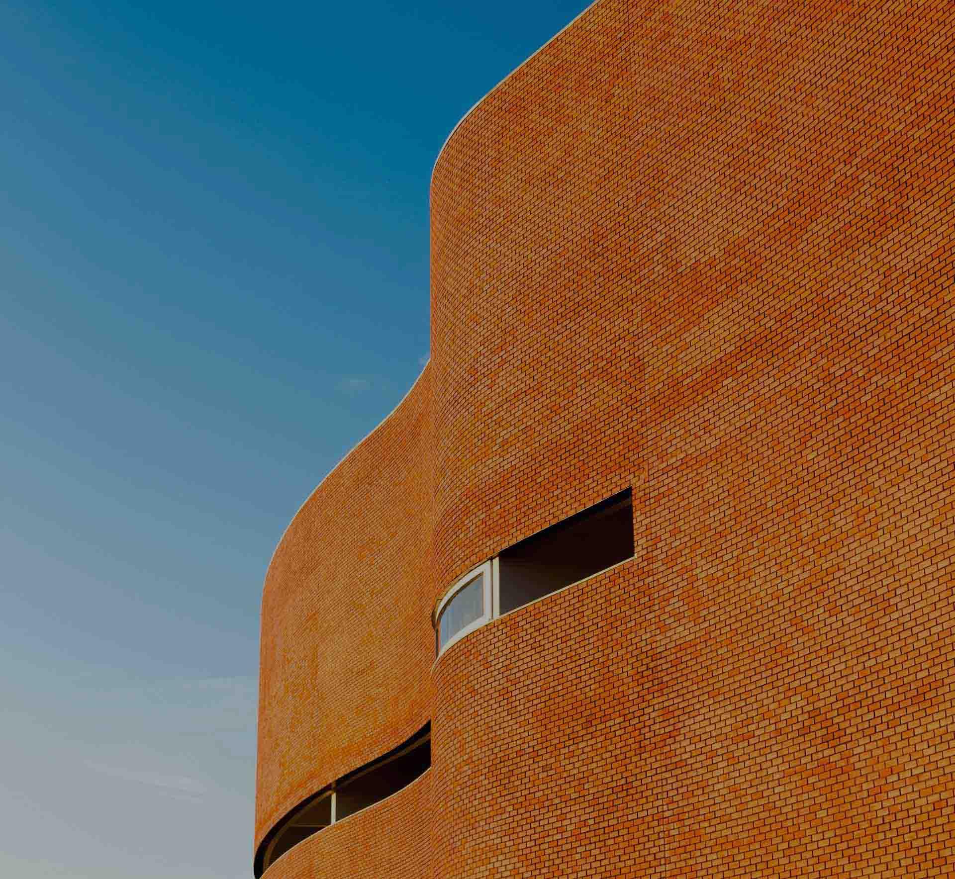 Por qué en Inglaterra se pueden encontrar muros ondulados de ladrillos